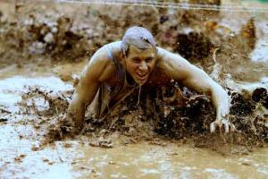 Learn How To Get Through Family Mud Run Obstacle