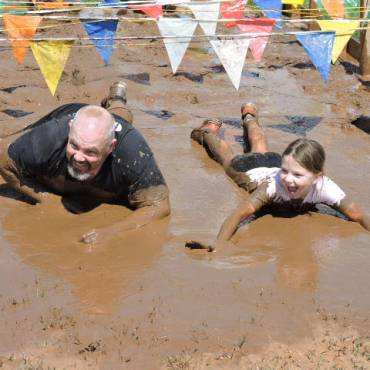 """South Plainfield's Riley School PTSO Hosts """"Your First Mud Run"""""""