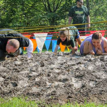 Goodman Campus Hosts 'Mud Run' Obstacle Course