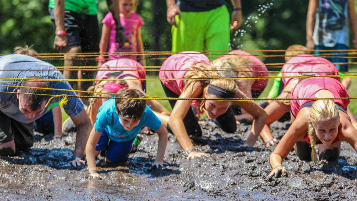 What is a Family Mud Run, Exactly?