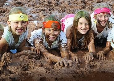 Five Exercises to Do Before Every Kids Mud Run