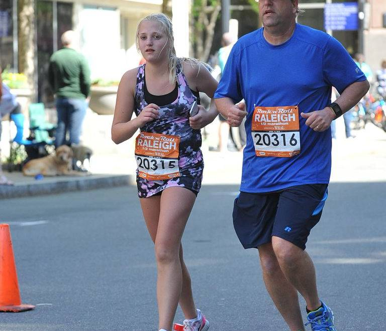 Teenager Finds Confidence by Training for Half Marathons & Mud Runs with Dad
