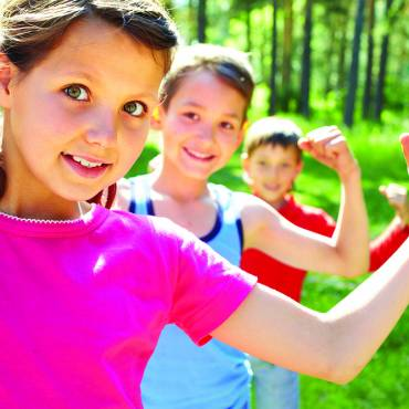 How do I get my kids to exercise more?