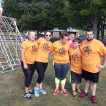team orange mud run