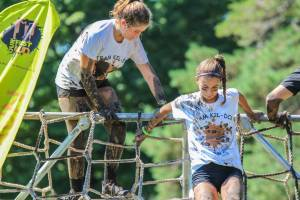 junior girls mud run