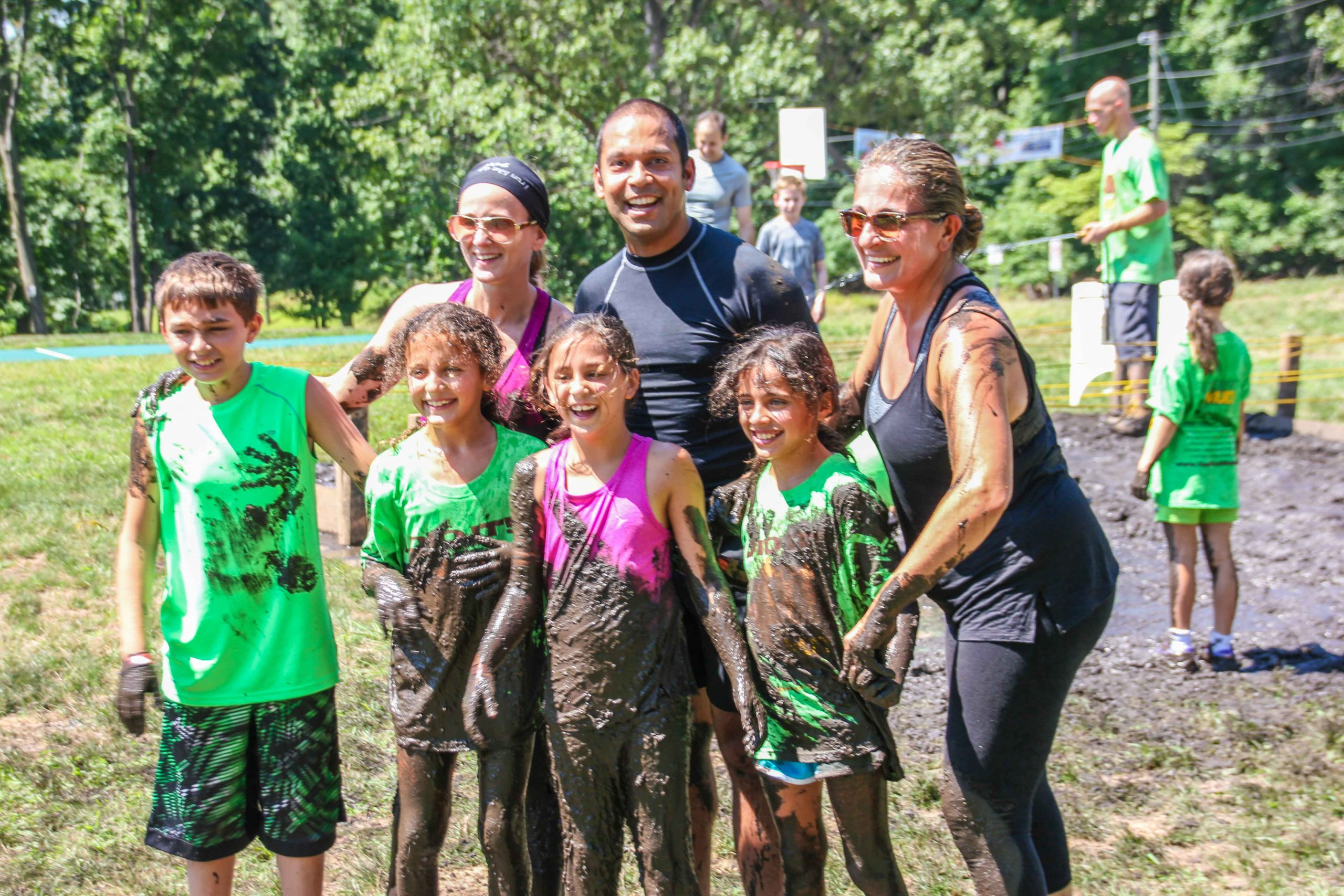 family mud run NY